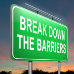 Break down the barriers.